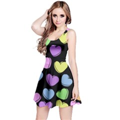 Valentine s Hearts Reversible Sleeveless Dress by BubbSnugg