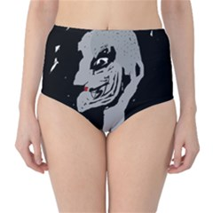 Horror High Waist Bikini Bottoms by Valentinaart