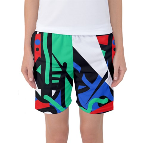 Find Me Women s Basketball Shorts