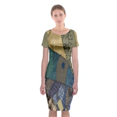 Halloween Classic Short Sleeve Midi Dress by Wanni