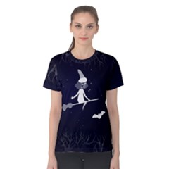Halloween Women s Cotton Tee by Wanni
