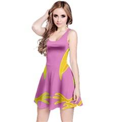 Parrots Reversible Sleeveless Dress by Valentinaart