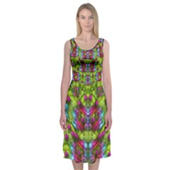 Freedom In Colors For The Season Midi Sleeveless Dress by Contest2081234