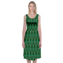 Jewel Of The Morning Midi Sleeveless Dress by Contest2504870