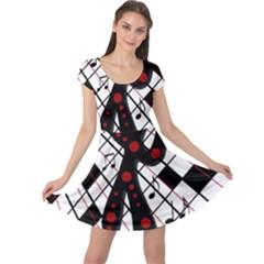 On The Dance Floor  Cap Sleeve Dresses