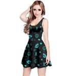 POTS Mermaid Print Reversible Sleeveless Dress