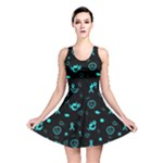 POTS Mermaid Print Reversible Skater Dress