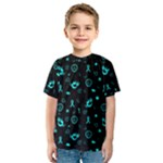 POTS Mermaid Print Kid s Sport Mesh Tee