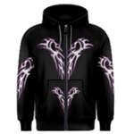Silver Double Dragons Zip-Up Hoodie Men s Zipper Hoodie