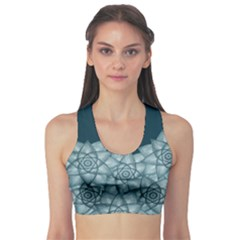 Flower Star Sports Bra