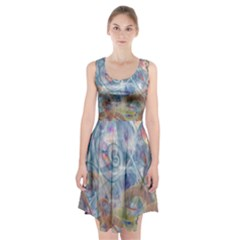 Spirals Racerback Midi Dress by Contest2489503