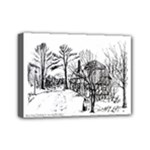 AH00293-1 Barn Near Corning By Ave Hurley Mini Canvas 7  x 5  (Stretched)