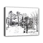 AH00293-1 Barn Near Corning By Ave Hurley Canvas 10  x 8  (Stretched)
