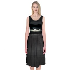 The Stars Midi Sleeveless Dress by Contest2483978
