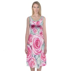 Image Midi Sleeveless Dress by Contest2473766
