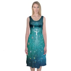 Lord Will Provide Midi Sleeveless Dress by Contest2509389