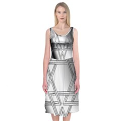 Links Midi Sleeveless Dress by Contest2476114