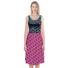 Colors Complementary Midi Sleeveless Dress by Contest2284767