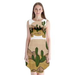 Desert 2 Sleeveless Chiffon Dress   by Valentinaart