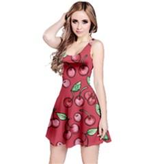 Cherry Cherries For Spring Reversible Sleeveless Dress by BubbSnugg