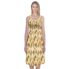 Shell We Dance? Midi Sleeveless Dress by Contest2504870