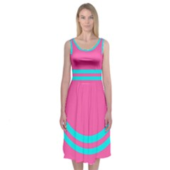 Spring Fling Midi Sleeveless Dress by Contest2504870