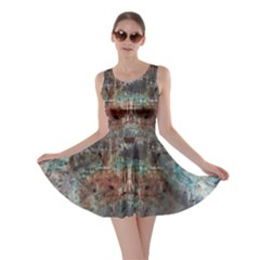 1a Mirror Lost Abstract  (2) Skater Dress