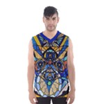 Sirian Solar Invocation Seal - Men s Basketball Tank Top
