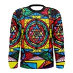 Sri Yantra - Men s Long Sleeve Tee