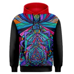 Pleiadian  coherence  Lightwork Model - Men s Pullover Hoodie by tealswan