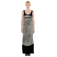 Close To The Full Moon Maxi Thigh Split Dress by picsaspassion