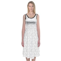 Icecreams And Diamonds Midi Sleeveless Dress by Contest2504870