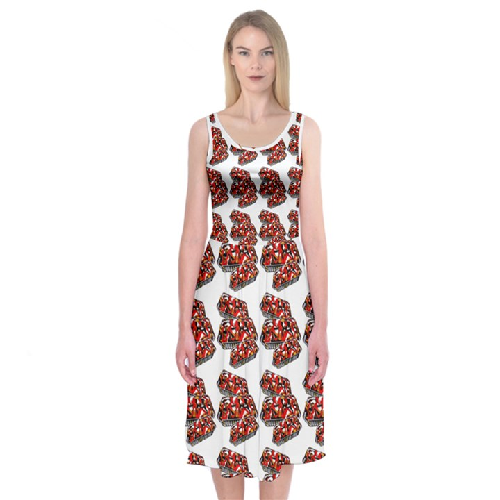 HSP 2 Midi Sleeveless Dress