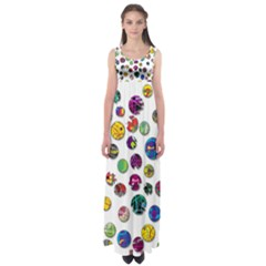 Play With Me Empire Waist Maxi Dress by Valentinaart