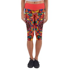 Aplomb   Capri Yoga Leggings by tealswan
