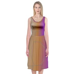 Mirror Image Midi Sleeveless Dress by Contest2476114