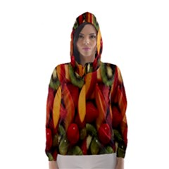 Fruit Salad Hooded Wind Breaker (women)