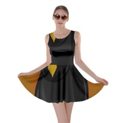 Halloween   Old Black Rawen Skater Dress by Valentinaart