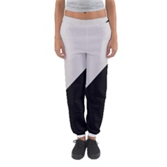 Black Grey Women s Jogger Sweatpants by Aanygraphic