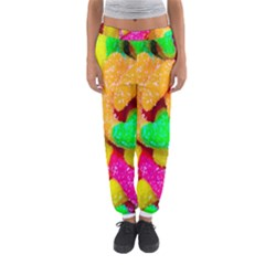 Neon Patterns Women s Jogger Sweatpants by AnjaniArt