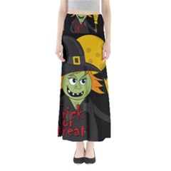 Halloween Witch Maxi Skirts by Valentinaart