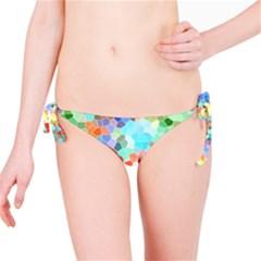 Colorful Mosaic  Bikini Bottom by designworld65