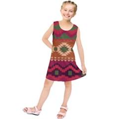 Background Plot Fashion Kids  Tunic Dress by AnjaniArt