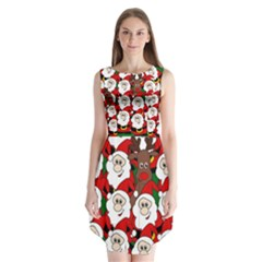 Did You See Rudolph? Sleeveless Chiffon Dress   by Valentinaart
