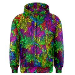 Hot Liquid Abstract A Men s Zipper Hoodie by MoreColorsinLife