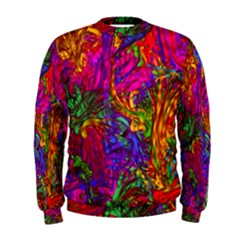 Hot Liquid Abstract B  Men s Sweatshirt by MoreColorsinLife