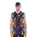 Planetary Vortex - Men s Basketball Tank Top