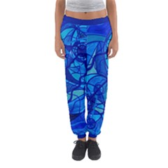 Arcturian Calming Grid   Women s Jogger Sweatpants by tealswan