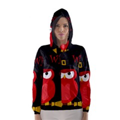 Who Is A Witch? - Red Hooded Wind Breaker (women)