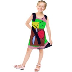 Fantasy  Kids  Tunic Dress by Valentinaart